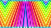 curvo : Rainbow multicolored stripes move cyclically. 29 Stock Footage