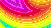 multicolor : Rainbow multicolored stripes move cyclically. 73 Stock Footage