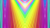 spektrum : rainbow colors abstract stripes, background in 4k with bright shiny paint. Smooth seamless animation with gradient color. Straight lines 12