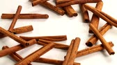 bereket : fine spices sticks of dry cinnamon as part of aromatic flavoring food