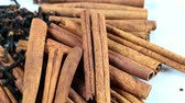 sweet pepper : sticks of dried seasoning cinnamon and cloves