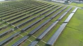 fotovoltaica : Aerial view of solar energy panels, solar panels, solar power plants.
