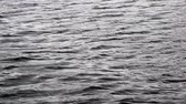 yansıma : Video of rippling fresh water with the reflection of an overcast day on the surface.