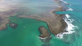tál : Aerial view of natural pools of Sao Miguel dos Milagres, Alagoas, Brazil. Fantastic landscape. Great colors and contrast. Beautiful beach scene. Vacation on the paradise Travel Destination. Vacation Travel. Travel Lifestyle. Natural Pools.