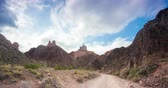 pradaria : Timelapse of moving clouds at Charyn canyon in Kazakhstan
