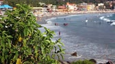 coco : View of the tropical beach of Kovalam, Kerala, India
