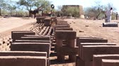 empilhados : Adobe Brick Making Stacked