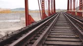 скрестив : Train Bridge Pan Up