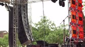 stage lights : Concert Outdoor Stage Pan Over