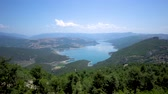 anatolia : Scenic view of beautiful Sahinkaya lake in Vezirkopru district of Samsun province,Turkey.