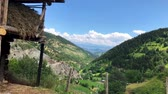 アナトリア : Artvin, Turkey - July 2018: Walking in the Maden Village in the highlands of Artvin, Savsat, Turkey 動画素材