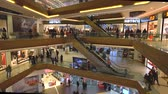 axis : istanbul, Turkey - December 2018: Unidentified people shopping at Axis Shopping Mall in Kagithane, istanbul, Turkey