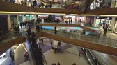 centro : istanbul, Turkey - December 2018: Unidentified people shopping at Axis Shopping Mall in Kagithane, istanbul, Turkey