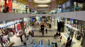 medio oriente : Doha, Qatar- February 2019: People shopping inside Doha Festival City shopping mall