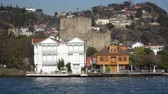 history : istanbul, Turkey - March 2019: Anadolu Hisari and Anatolian Fortress built by Ottoman Empire, Beykoz