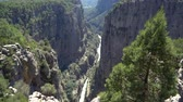 manavgat : Canyon landscape from Manavgat, Antalya,Turkey. Great Tazi Canyon and cliff.