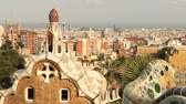 mozaik : Barcelona cityscape from Parc Guell