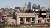 trein : Union Station Kansas City Downtown Skyline