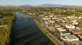 tulp : Skagit River Mt. Vernon Washington Downtown
