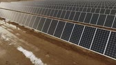 fotovoltaik : Large Green Alternative Energy Solar Power Farm Sun Collecting Panels
