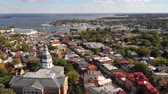 Капитолий : The Sleepy Town City Center of Annapolis Capital City of Maryland