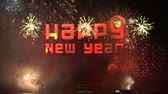 casa : happy new year 2014 3d with real fireworks Istanbul Bosphorus Bridge