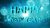party : happ new year 2015 Stock Footage