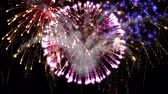 sky : beautiful fireworks explosion