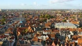 pomost : Bruges city view taken from Church of Our Lady
