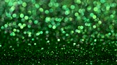 освещенный : Green Christmas or New Year festive background
