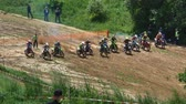 motorized sport : Motocross racers championship start 4K