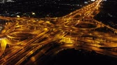 autostrada : Aerial View of traffic transportation,bird eye view