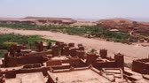 kasbah : Ait Benhaddou - fortified city on the route between the Sahara Desert and Marrakech in Morocco, Africa