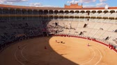 tourada : Plaza de Toros de Las Ventas - Bullring in Madrid, Spain