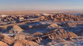 sal : Valle de la Luna at sunset, The Atacama Desert, Antarctica, Chile