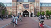 i city : Rijksmuseum at the Museumplein, Amsterdam, North Holland, The Netherlands