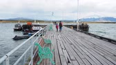 Патагония : Old Pier, Puerto Natales, Ultima Esperanza Province, Patagonia, Chile