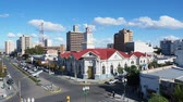 Патагония : National Bank Building, elevated view, Trelew, The Welsh Settlement, Chubut Province, Patagonia, Argentina