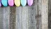 рамка : Easter eggs appearing time lapse frame.
