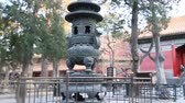 wazon : a 360 pan of a small courtyard area in the forbidden city