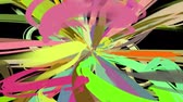 paint stroke burst Stock Footage