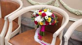 rosa : Bridal Bouquet on table summer