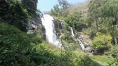 doi inthanon : mae ya waterfall in thailand