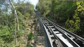 phetchaburi cable car Stockvideo