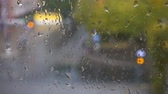 condensação : Rain on the strret, view from the window