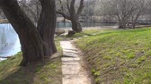 vazio : Abandoned park in the spring