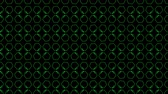 палка : Animation background with hexagon and lines