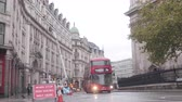 encerramento : Traffic in London with road closure