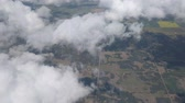 Aerial Footage taken from Airliner above clouds. Ideally suited for title screen.