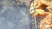 lamm : The smoke from the grill makes the chicken heat